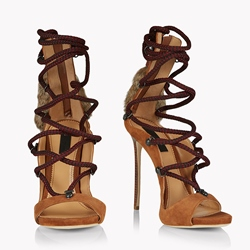 Shoespie Cross Strap Sexy High Heel Dress Sandals