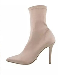 Shoespie Slip-On Stiletto Heel Ankle Women's Boots