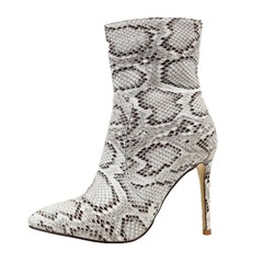 Shoespie Sexy Serpentine Stiletto Heel Boots