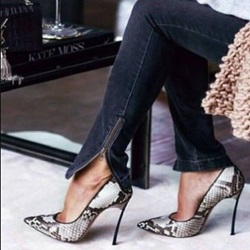 Shoespie Sexy Serpentine Stiletto Heels