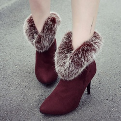 Shoespie Winter Stiletto Heel Women's Boots