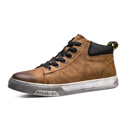 Shoespie Thread Color Block Men's Shoes