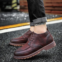 Shoespie Casual Thread Lace-Up Men's Oxfords