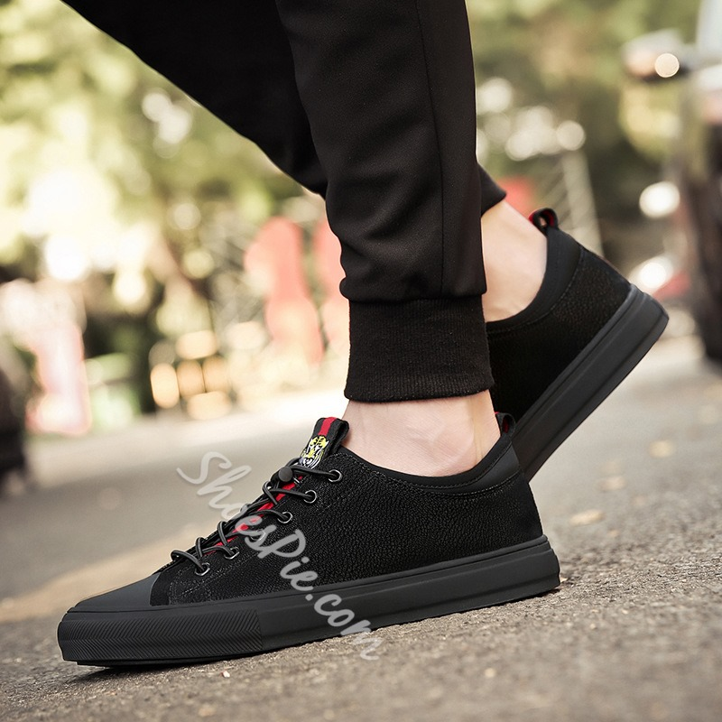 Shoespie Patchwork Casual Lace-up Men's Sneakers