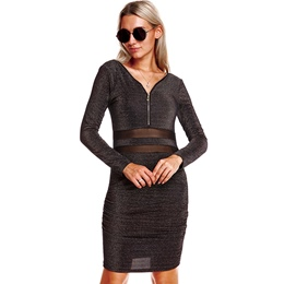 Shoespie V-Neck Long Sleeve Women's Dresses