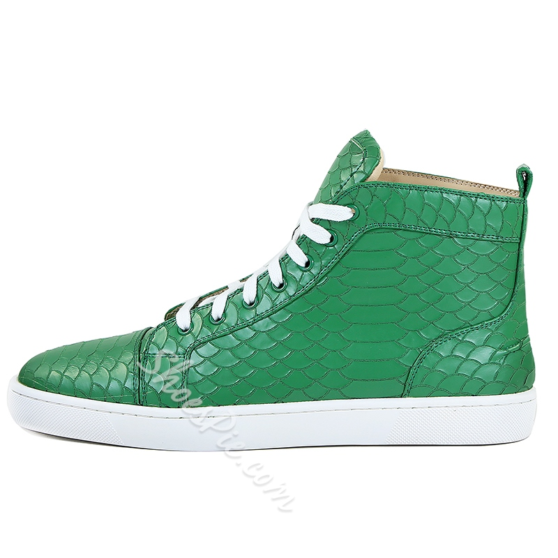 Shoespie Casual Lace-Up Sneakers For Men