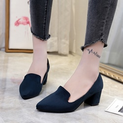Shoespie Low Chunky Heel Women's Shoes