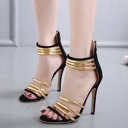Sexy High Stiletto Heel Open Toe Dress Sandals