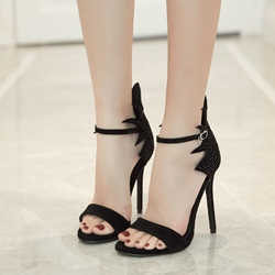 Rhinestone Sexy High Stiletto Heel Dress Sandals