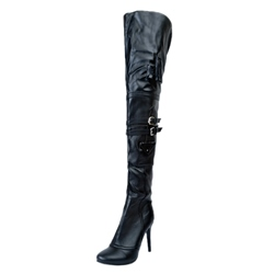 Shoespie Sexy Stiletto Heel Thigh High Boots