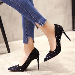 High Stiletto Heel Rhinestone Women's Shoes