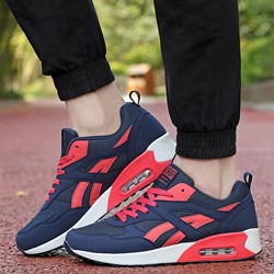 Mesh Lace Up Casual Women's Shoes