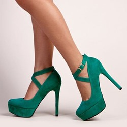 High Stiletto Heel Platform Women's Shoes