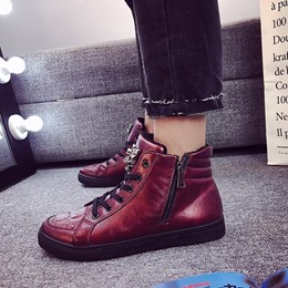 Shoespie Casual Lace-Up Sneakers