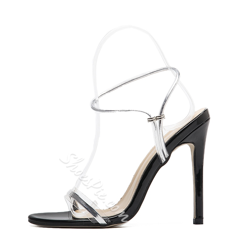 Open Toe High Stiletto Heel Dress Sandals