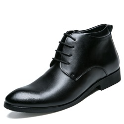 Lace-Up Professional Oxfords Fashion Boots
