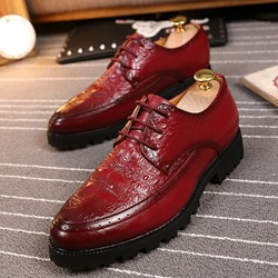 Professional Lace-Up Men's Oxfords