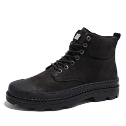 Casual Round Toe Men's Martin Boots