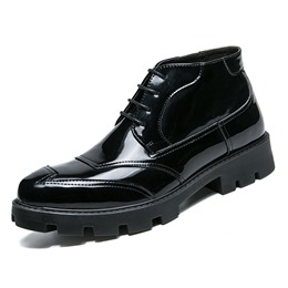 Lace-Up Oxfords Black Martin Boots
