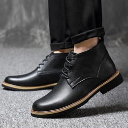 Casual Lace-Up Front Men's Oxfords