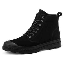 Round Toe Men's Boots Lace-Up Sneakers
