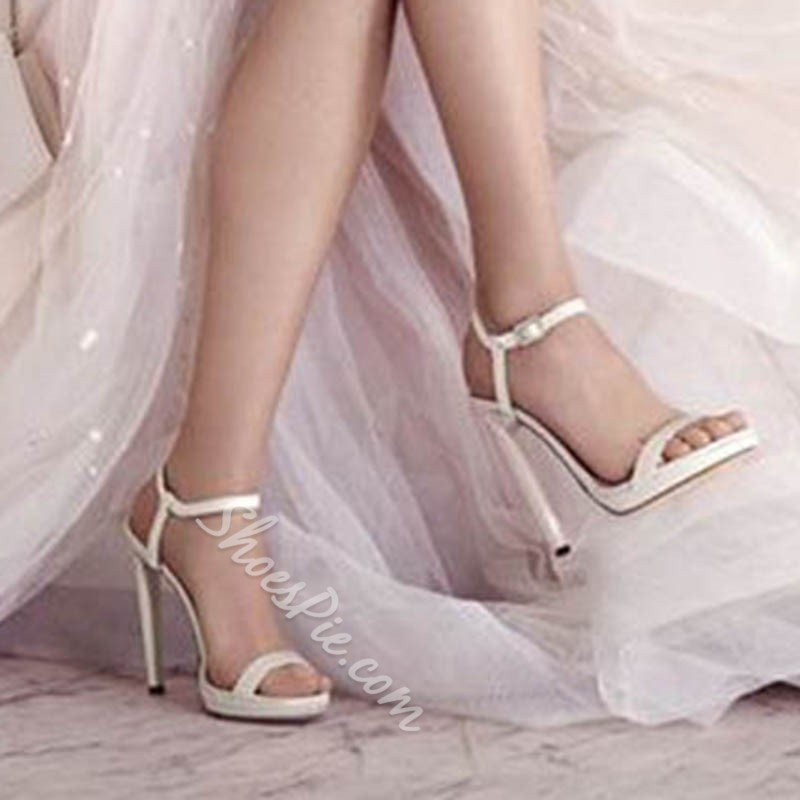 Sexy High Stiletto Heel Wedding Shoes