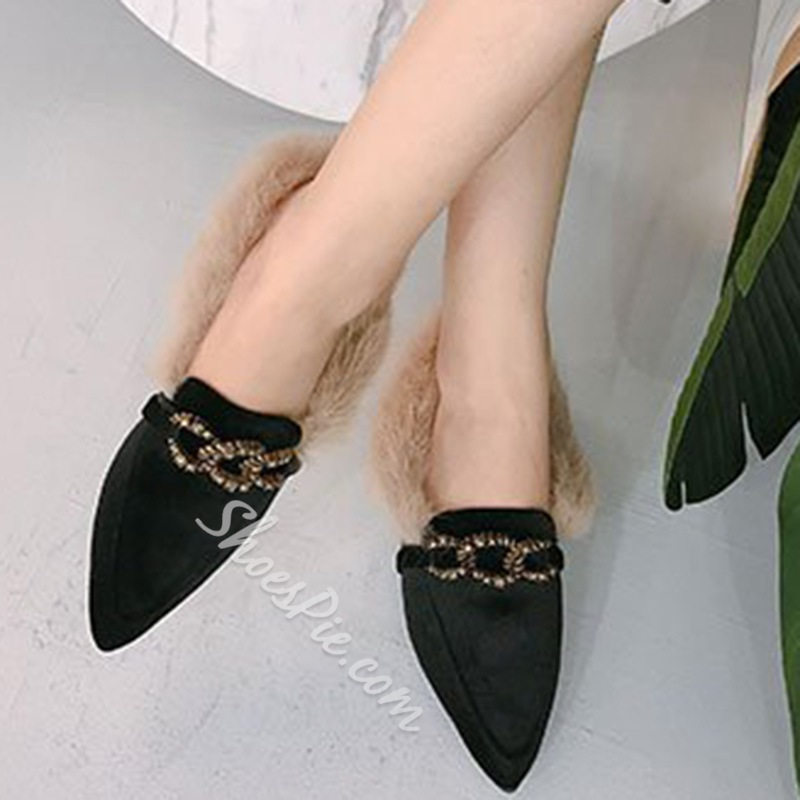 Short Floss Slip-On Casual Women's Shoes