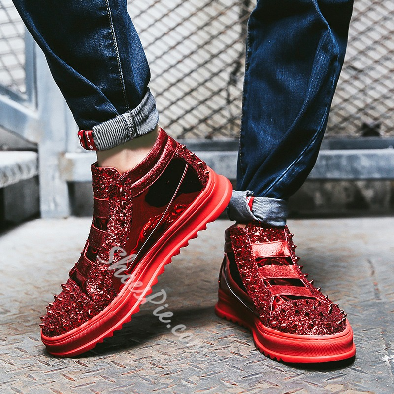Casual Sequin Fashion Men's Sneakers