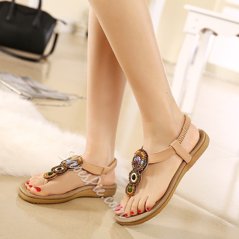 Thong Low-Cut Upper Casual Sandals