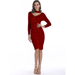 Sexy Knee-Length Bodycon Dresses