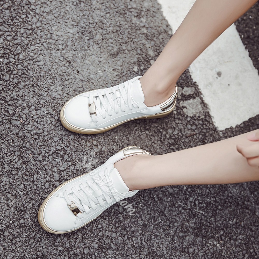 Lace-Up Casual Women's Sneakers