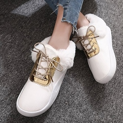 Lace-Up Front Casual Women's Shoes