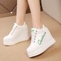 Platform Lace-Up Letter Women's Shoes