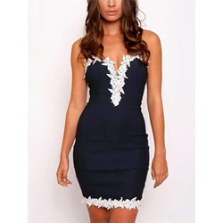 Spaghetti Strap Sleeveless Bodycon Dresses