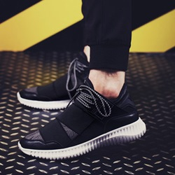 Casual Round Toe Sneakers Lace-Up Athletic Shoes