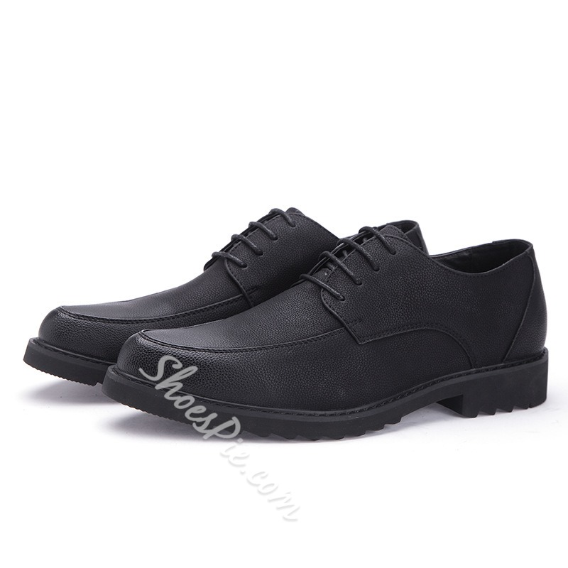 Lace-Up Low-Cut Upper Men's Oxfords