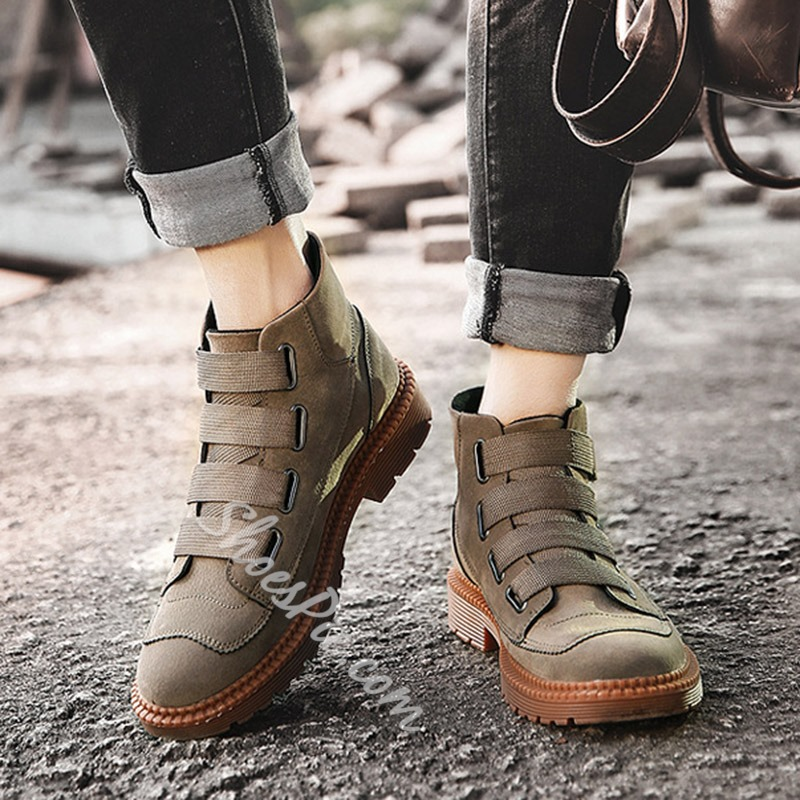 Casual Round Toe Fashion Sneakers