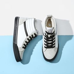 Casual Lace-Up High-Cut Upper Men's Sneakers