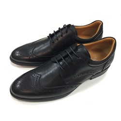 Professional Round Toe Leather Lace-Up Oxfords