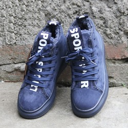 Lace-Up Letter Casual Women's Shoes