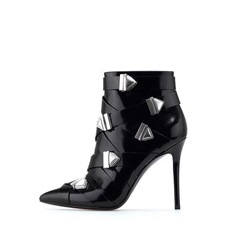 Sexy Stiletto Heel Buckle Fashion Boots