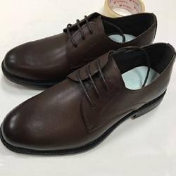 Professional Leather Round Toe Lace-Up Men's Oxfords