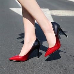 Gradient Slip-On Stiletto Heel Pumps
