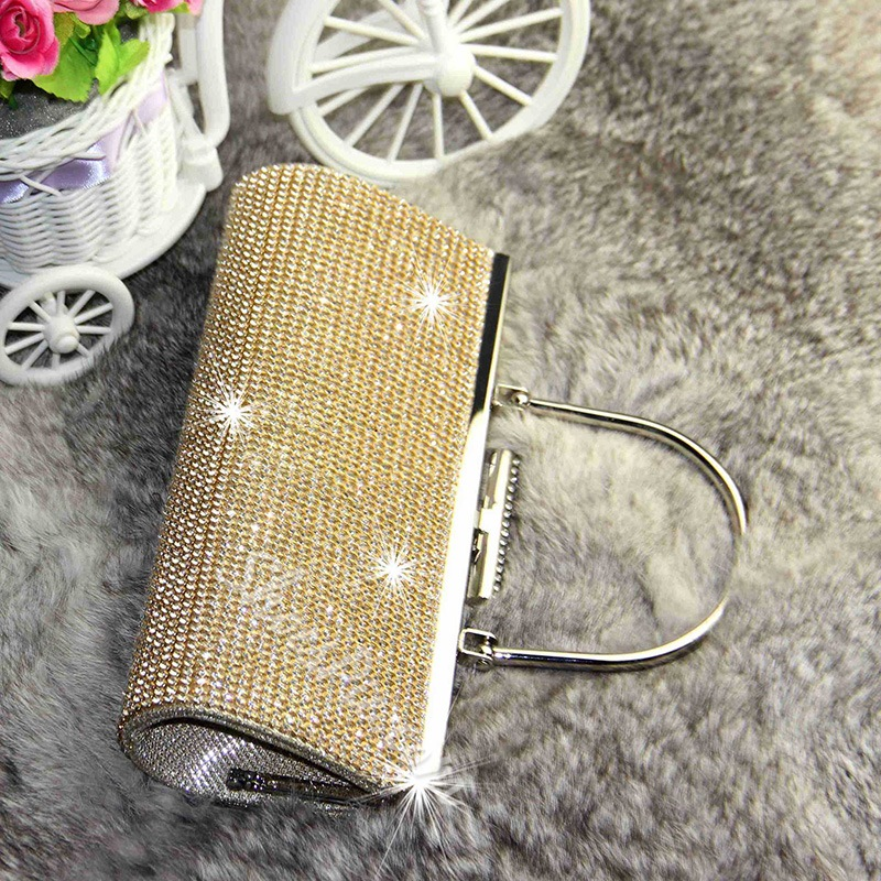 Shoespie Sequins Rhinestone Evening Clutch