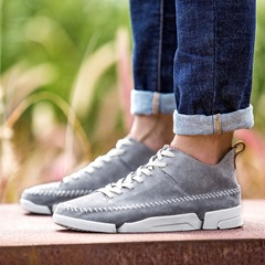 Men's Skate Casual Lace-Up Sneakers