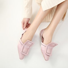 Slip-On Solid Color Women's Shoes