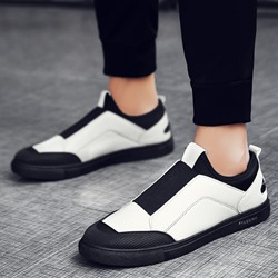 Casual Round Toe Elastic Band Sneakers
