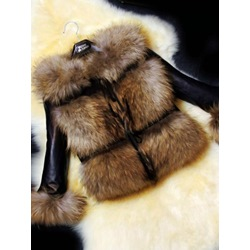 Regular Short Fall Women's Faux Fur Overcoat