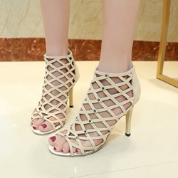 Rivet Mesh Sexy Women's Shoes