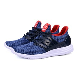 Casual Lace-Up Sneakers Mesh Athletic Shoes